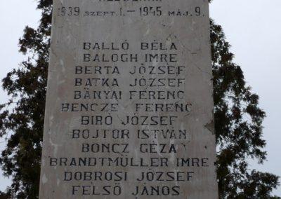 Homokszentgyörgy világháborús emlékmű 2010.03.02. küldő-Sümec (6)