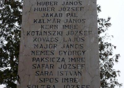 Homokszentgyörgy világháborús emlékmű 2010.03.02. küldő-Sümec (8)