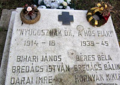 Homrogd világháborús emlékmű 2014.02.15. küldő-kalyhas (3)