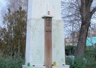 Hontfüzesgyarmat világháborús emlékmű 2008.12.05. küldő-Pfaff László, Rétság