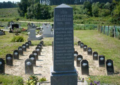 Horvátkút I.vh emlékmű katonasírokkal 2010.08.12. küldő-Sümec (1)
