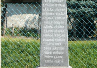 Horvátkút I.vh emlékmű katonasírokkal 2010.08.12. küldő-Sümec (7)