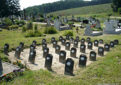 Horvátkút I.vh emlékmű katonasírokkal 2010.08.12. küldő-Sümec (9)