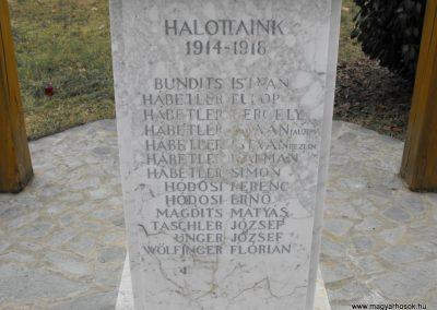 Horvátlövő világháborús emlékmű 2009.01.13.küldő-gyurkusz (3)
