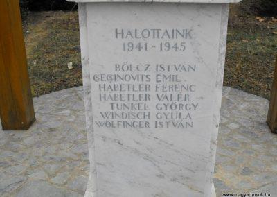 Horvátlövő világháborús emlékmű 2009.01.13.küldő-gyurkusz (4)
