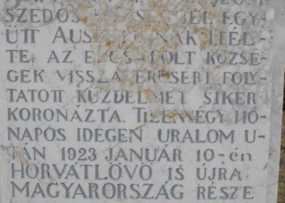 Horvátlövő világháborús emlékmű 2009.01.13.küldő-gyurkusz (5)