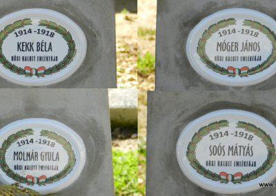 Hosztót I. világháborús emlékfák 2018.04.08. küldő-Huber Csabáné (3)