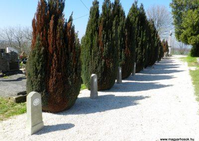 Hosztót I. világháborús emlékfák 2018.04.08. küldő-Huber Csabáné