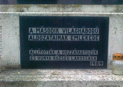 Hunya II.vh emlékmű 2010.08.02. küldő-Csiszár Lehel (3)