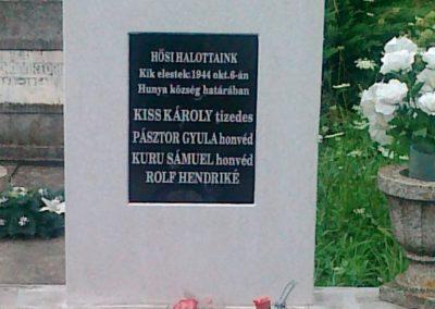 Hunya II.vh síremlék 2010.08.06. küldő-Csiszár Lehel (1)