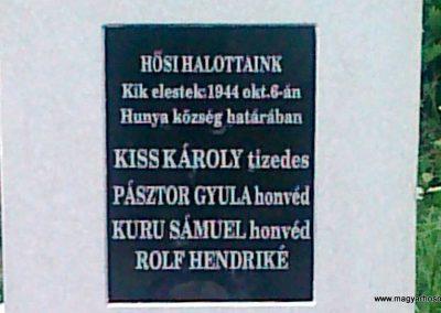 Hunya II.vh síremlék 2010.08.06. küldő-Csiszár Lehel (2)