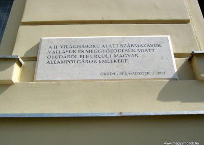 III. kerület Óbuda Fő tér II. világháborús emléktáblák 2018.07.06. küldő-Bali Emese (3)