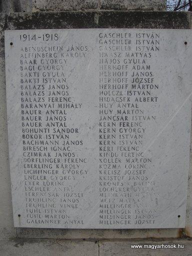 III. kerület Békásmegyer-ófalu Hősi emlékmű 2008.04.03.küldő-Huszár Peti (4)