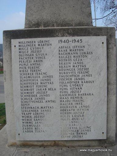 III. kerület Békásmegyer-ófalu Hősi emlékmű 2008.04.03.küldő-Huszár Peti (5)