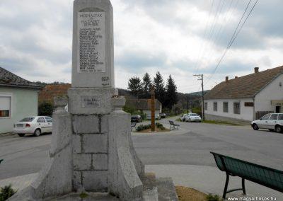 Ibafa I. világháborús emlékmű 2014.09.20. küldő-Turul 68