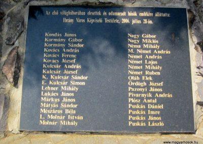 Ibrány I. világháborús emlékmű 2014.06.23. küldő-kalyhas (6)