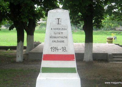 Igrici I.vh emlékmű 2009.07.02. küldő-kalyhas