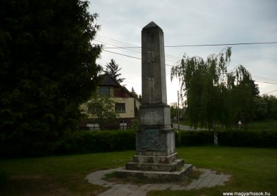 Iharosberény I.vh emlékmű 2009.04.28.küldő-Sümec
