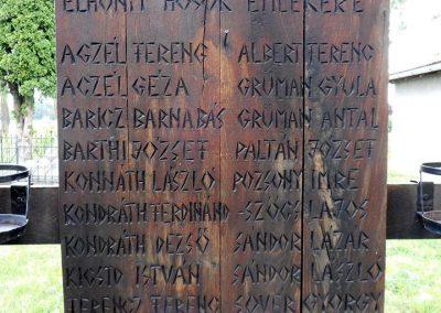 Imecsfalva világháborús emlékmű 2018.08.27. küldő-Fehér Mónika (1)