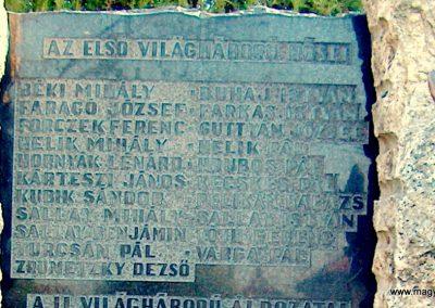 Inárcs világháborús emlékmű 2011.11.05. küldő-Ocsovai András (2)