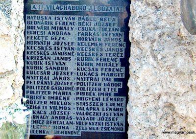 Inárcs világháborús emlékmű 2011.11.05. küldő-Ocsovai András (3)