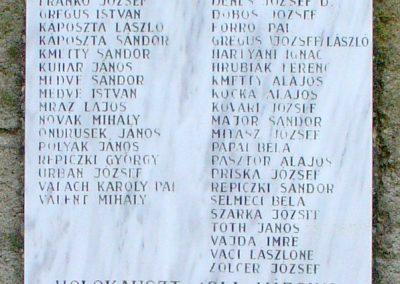 Ipolyvece világháborús emlékmű 2008.04.06. küldő-Pfaff László, Rétság (2)