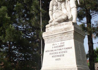 Isaszeg világháborús emlékmű 2007.05.21.küldő -Petrás M.
