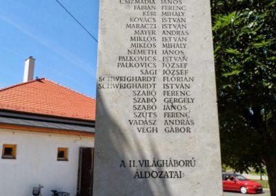 Iszkaszentgyörgy világháborús emlékmű 2014.06.09. küldő-Méri (1)