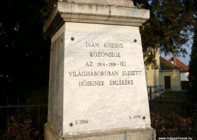Iván I.vh emlékmű 2011.02-23. küldő-Ágca (4)
