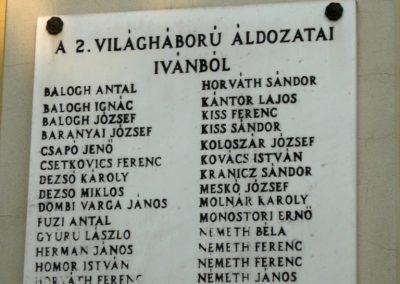 Iván II.vh emléktábla 2011.02.23. küldő-Ágca (2)