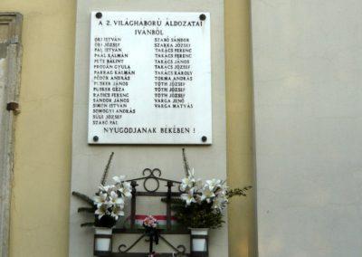 Iván II.vh emléktábla 2011.02.23. küldő-Ágca (3)