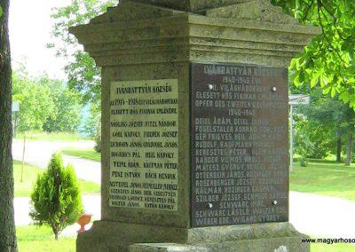 Ivánbattyán világháborús emlékmű 2010.05.30. küldő-Mistel (5)