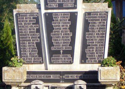 Ivánc világháborús emlékmű 2012.10.06. küldő-Méri (2)