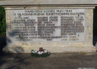 Ivándárda világháborús emlékmű 2009.05.28.küldő-Horváth Zsolt (2)