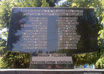 Izsófalva - 1950-ig Disznóshorvát - világháborús emlékmű 2012.06.21. küldő-Pataki Tamás (11)
