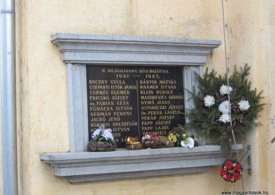 Járdánháza világháborús emléktáblák a templom falán 2008.01.27.küldő-Kalyhas (4)
