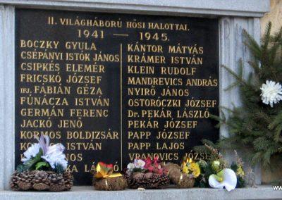 Járdánháza világháborús emléktáblák a templom falán 2008.01.27.küldő-Kalyhas (5)