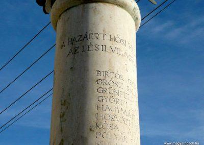 Jármi világháborús emlékmű 2010.11.09. küldő-Ágca (5)