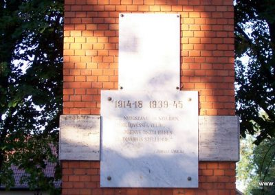Jászágó világháborús emlékmű 2009.09.30. küldő-miki (2)