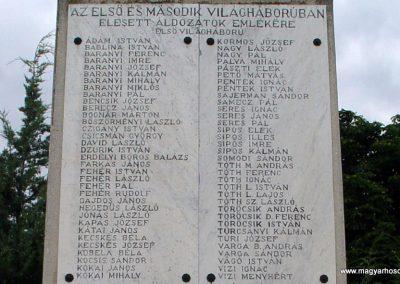 Jászkarajenő világháborús emlékmű 2010.06.24. küldő-Budai Annamária (2)