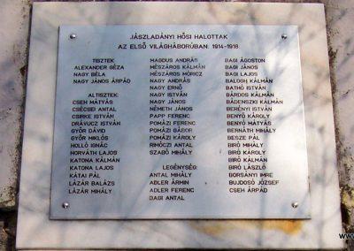 Jászladány I.vh emlékmű 2009.04.08. küldő-miki (6)
