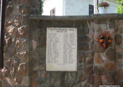 Kálló világháborús emlékmű 2009.09.28. küldő-kalyhas (3)