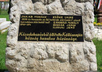 Kállósemjén I. világháborús emlékmű 2012.04.27. küldő-kalyhas (5)