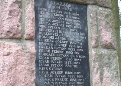 Kálmáncsa világháborús emlékmű 2010.04.16. küldő-Sümec (2)