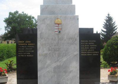 Kálmánháza világháborús emlékmű 2009.07.02.küldő-kalyhas (2)
