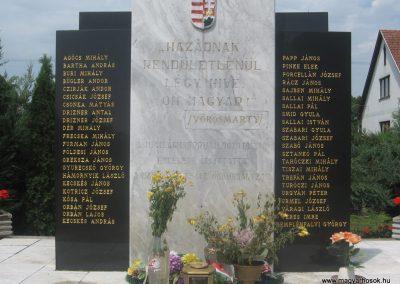 Kálmánháza világháborús emlékmű 2009.07.02.küldő-kalyhas (5)