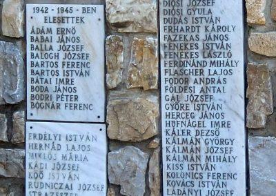 Káloz világháborús emlékmű 2015.03.07. küldő-Méri (2)