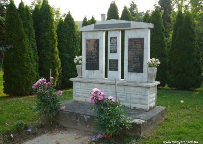 Kányavár világháborús emlékmű 2009.05.23.küldő-Sümec