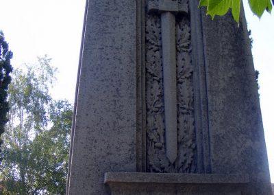 Kápolnásnyéki emlékmű hátoldala - ez lehetett az eredeti?