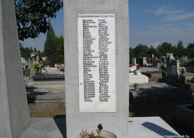 Kápolna világháborús emlékmű 2007.06.12. küldő-kalyhas (3)